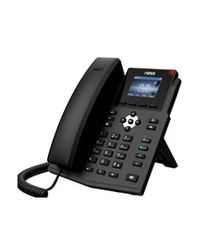 Fanvil X3SG - IP-телефон, 2 SIP-аккаунта, 2 порта LAN Gigabit, цветной дисплей, PoE