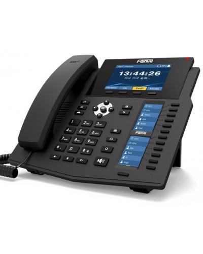 Fanvil X6U - IP-телефон премиального класса, 20 SIP-аккаунтов, RJ9, PoE, USB