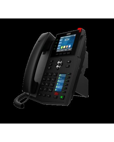 Fanvil X5U - IP-телефон, 6 линий SIP, HD Audio, PoE, 2 порта 10/100, USB